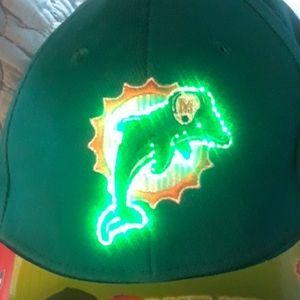 Light up dolphins hat unisex